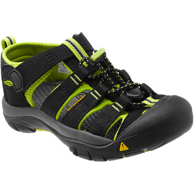Keen Newport H2 Sandalen Kinderen, black/lime green
